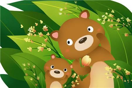 胎教故事大全每天一个:左小熊和右小熊