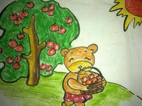 【小熊和苹果树的故事】宝宝故事小熊和苹果树的故事_睡前故事小熊和苹果树