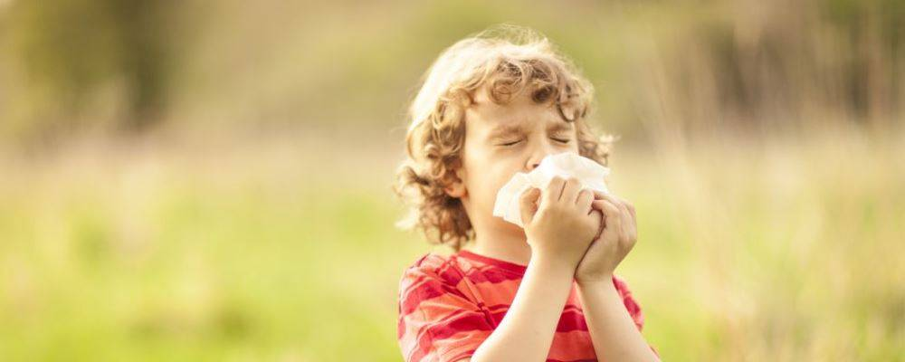 小儿过敏很常见 哪些方法可以有效改善
