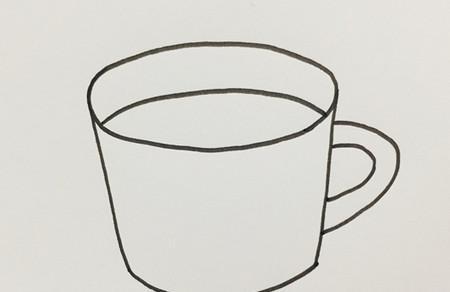 杯子怎么画的简单画法