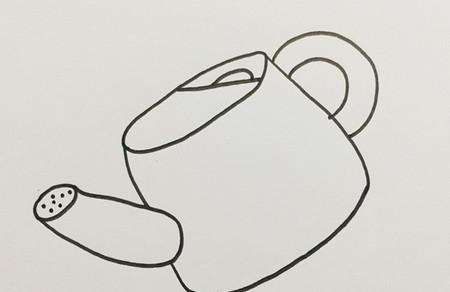浇水壶怎么画简笔画图片