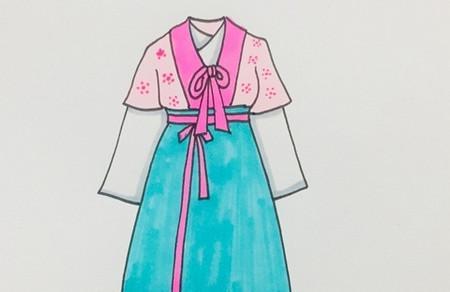 古代衣服怎么画简单又漂亮