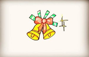 圣诞铃铛简笔画教程图片